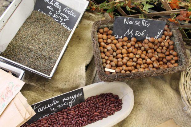 Haricots, Lentilles, Noisette